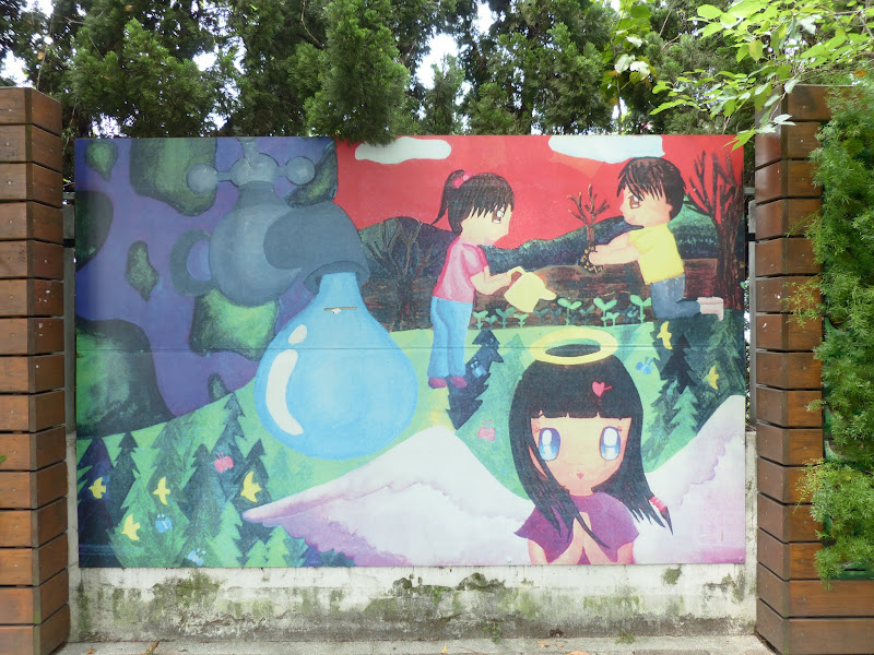 Taipei. Modélisme davions et Street art - P1250791.JPG