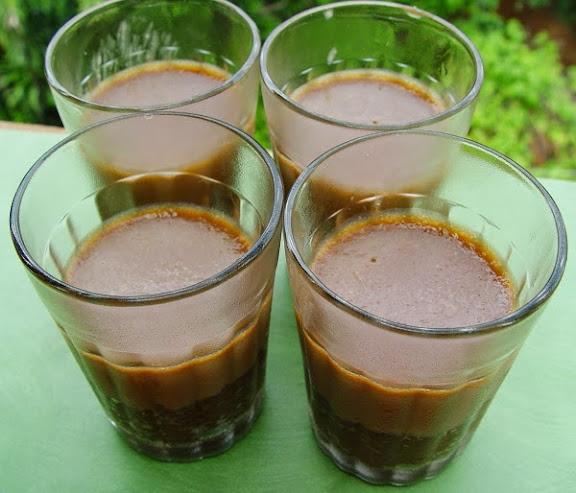 Creamy Coconut Mocha Couscous Mousse