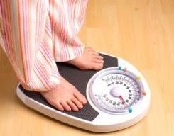 Определениt лишнего веса с помощью весов