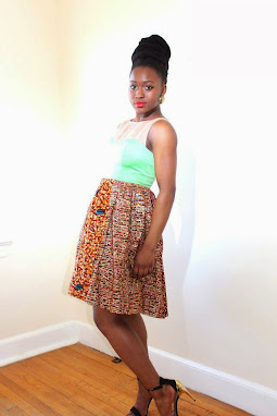 ankara dresses, aqua,