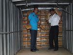 BNN RI Sita Ratusan Kilogram Ganja Dalam Truk Box Di Lampung