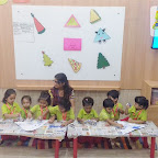 Triangle Day Celebrated by Nursery Evening Section at Witty World, Chikoowadi (2018-19)
