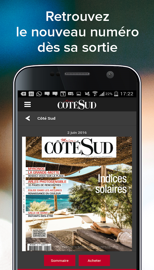 c t sud magazine 1 0 android apps on google play. Black Bedroom Furniture Sets. Home Design Ideas