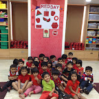 Red Day Celebrated by Nursery at Witty World (2015-16)