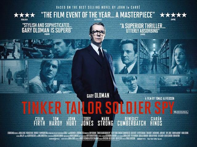 Tinker Tailor Solder Spy poster