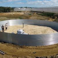 Montagem de reservatório com 600 m3 (Torres Vedras)