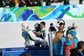 Norwegian team celebrating their success