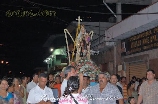 Procesión con la Virgen del Carmen 2011