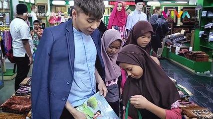 Beginilah Cara Roy Kiyoshi Berbagi Berkah Saat Ramadhan