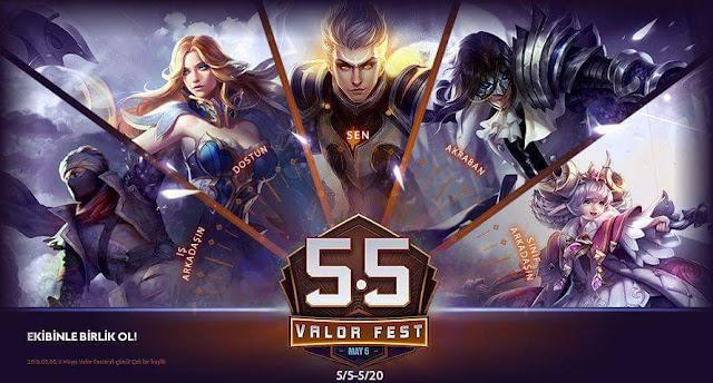 Arena of Valor Festivali 5 Mayıs'ta Başlıyor