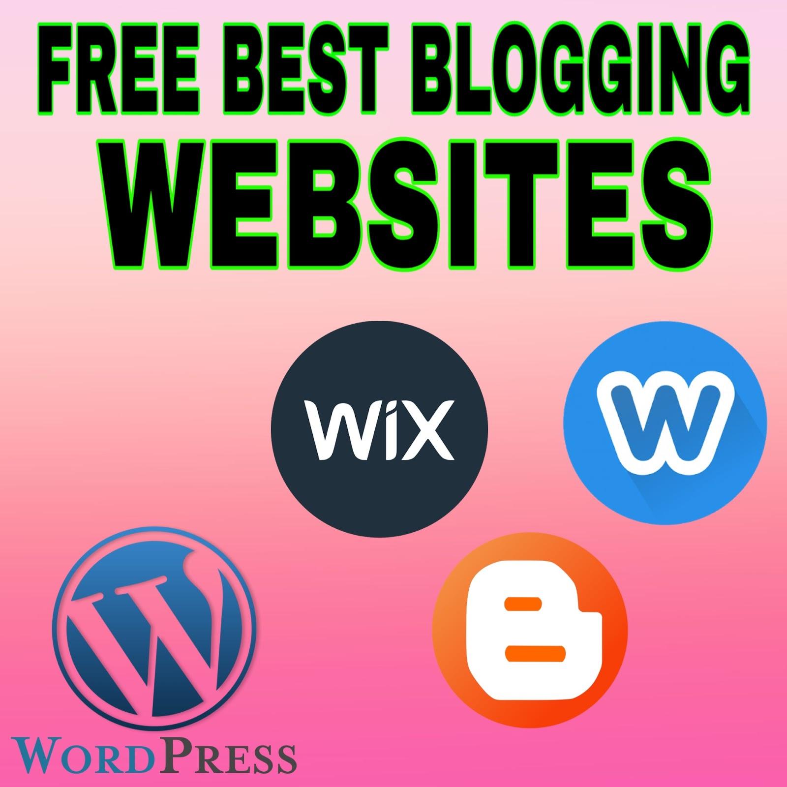 best-free-blogging-websites