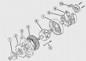 ford fiesta generator service manual free ford service and repair manuals ford fiesta repair manuals Ford Alternator Wiring Diagram at soozxer.org