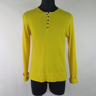 Burberry Ribbed Long Sleeved Henley