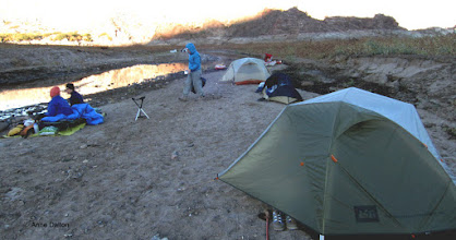 Photo: Morning along the Agua Fria river. Cooled to 45 at night. But we had a nice camp fire to keep warm.