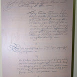 signed treaty in Taiwan by the Dutch VOC in Tainan, T'ai-nan, Taiwan