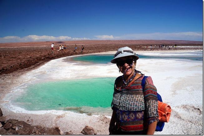 Lagunas Escondidas - Deserto de Atacama