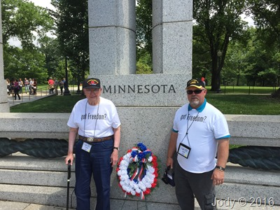 Minnesota at WW2 Memorial