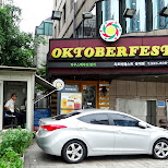 Oktoberfest must be loved in Seoul in Seoul, Seoul Special City, South Korea