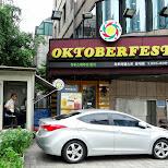 Oktoberfest must be loved in Seoul in Seoul, Seoul Special City, South Korea