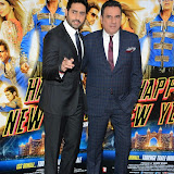 WWW.ENTSIMAGES.COM -  Abhishek Bachchan and Boman Irani      at    Happy New Year-SLAM Photo Call at The Montcalm Marble Arch, London October 5th 2014Conference to mark this year's biggest Bollywood film release and the most spectacular, Bollywood live event of the decade respectively, both featuring the industry's most celebrated luminaries. Happy New Year is produced by Red Chillies Entertainments Pvt Ltd and distributed worldwide by Yash Raj Films, releasing on 23rd October.                                                    Photo Mobis Photos/OIC 0203 174 1069