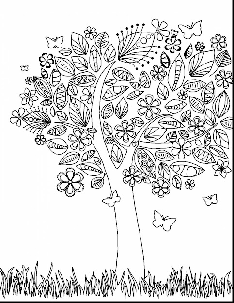 Amazing Abstract Adult Coloring Pages With Difficult Coloring Pages And Difficult  Coloring Pages Of Flowers