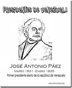 -José Antonio Páez - jugarycolorear com