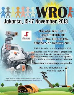 World Robot Olympiad - Málaga WRO 2013
