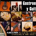 """Dentro de """"Gastronomía y Guitarra"""" pudimos disfrutar de otra fantástica """"Cena con los Artistas"""" en Plaer de Ma Vida. Faltan algunos platos que no llegaron... a la foto."""