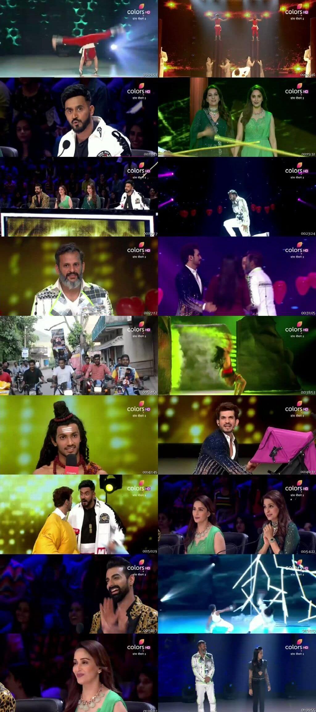 Screenshots Of Hindi Show Dance Deewane 2 22nd September 2019 Episode 30 300MB 480P HD