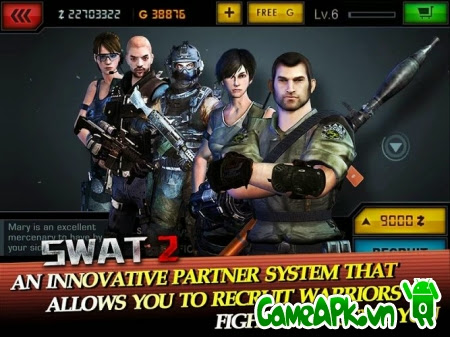 SWAT 2 v1.0.1 hack full tiền cho Android