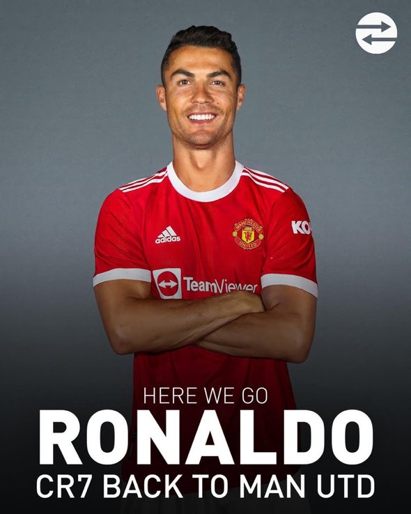 OFFICIAL:  @Cristiano #Ronaldo joins Manchester United