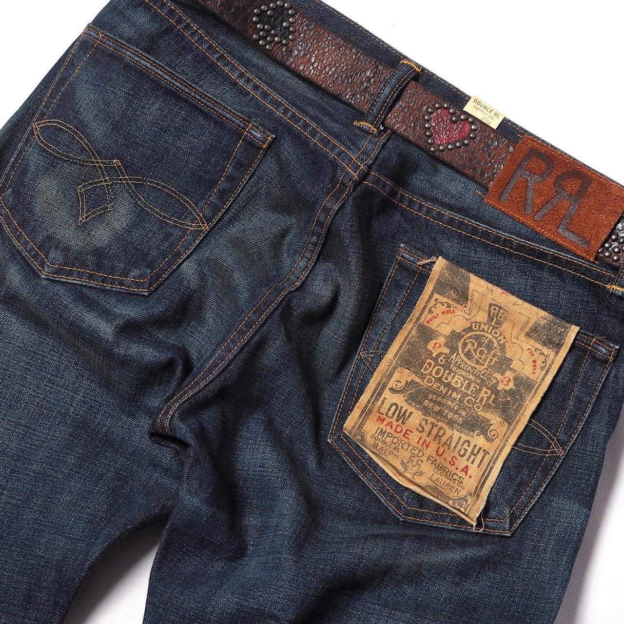 RRL / Maverick Leather Belt