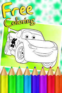 Mcqueen Cars Coloring Book - náhled