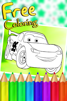 Mcqueen Cars Coloring Book APK Screenshot Thumbnail 4