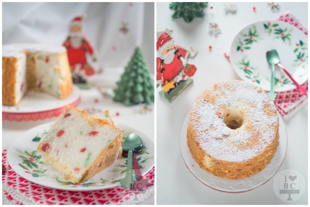 Christmas Angel Food Cake