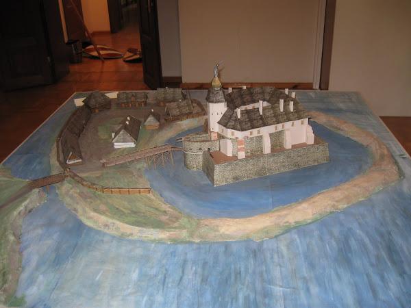 makieta zamku w Siewierzu