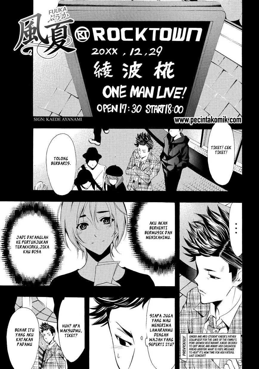 Fuuka Chapter 131-2