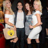 WWW.ENTSIMAGES.COM -    K-9 Angels Victoria Eisermann, Adam Doy, Marzena Rychlik and Pola   at   K-9 Angels Exclusive launch of BBK-9 Limited Edition Boots raising funds to help dogs all around the world at Beaufort House Chelsea October 16th 2014                                              Photo Mobis Photos/OIC 0203 174 1069