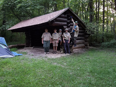 Troop 392 at Camp Birch for Astronomy Campout