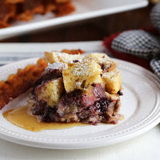 Blackberry French Toast.