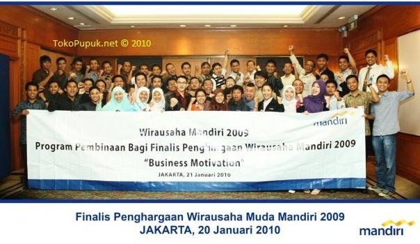 Finalis Nasional Wirausaha Muda Mandiri 2009