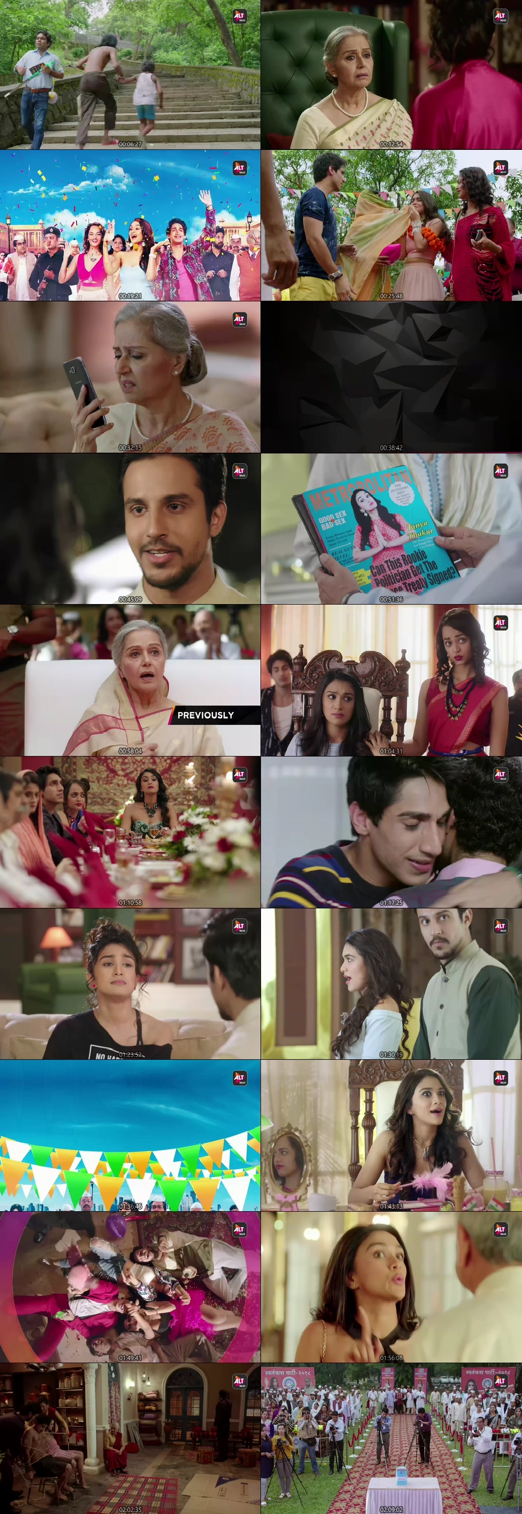 Screenshots Of Hindi Show PM Selfiewallie Season 01 2019 Complete - All Episodes 300MB 480P HD