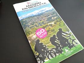 'Madrid en Bicicleta. 50 rutas  alrededor de Madrid para todos los niveles' nueva guía