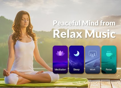 Relax Music - Meditation& Sleep Music, White Noise Screenshot