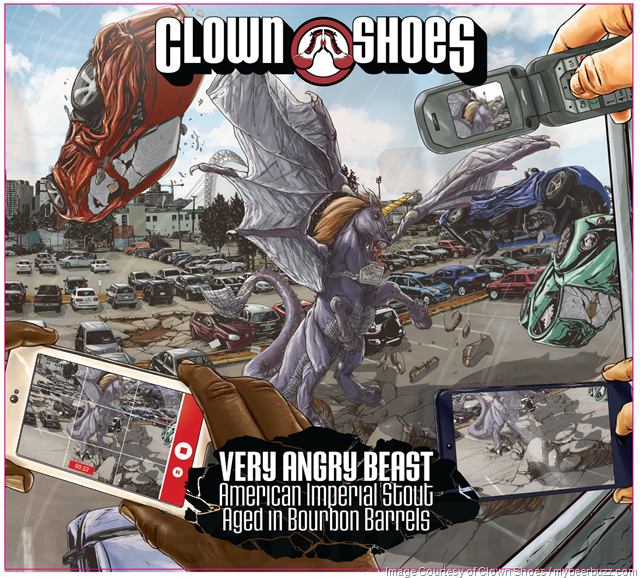Clown Shoes Very Angry Beast Returns (Bourbon Barrel-Aged)