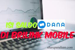 Isi Saldo DANA di BRILink Mobile