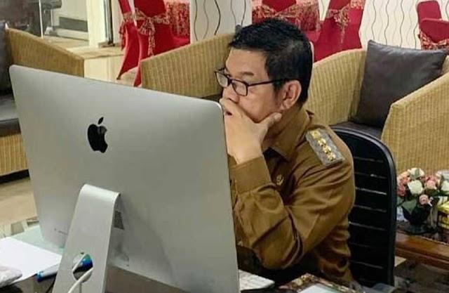 Bupati Ampera Sampaikan Arahan  Pioritas Pembangunan Tahun 2022 di Bartim