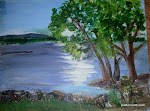 painting of Castle Rock Lake by Susan Cundiff.jpg