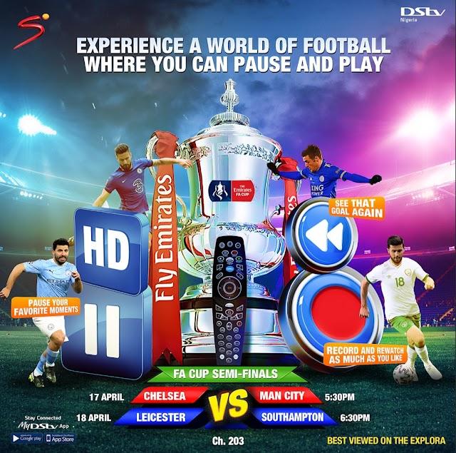 Chelsea vs Manchester City, Leicester City vs Southampton LIVE On DStv ~Omonaijablog