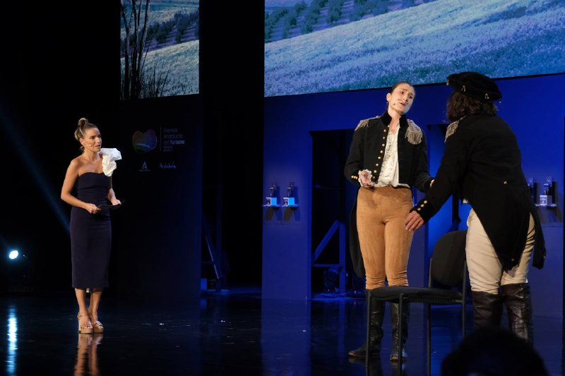 La gala contó con un recorrido teatral y cultural por los atractivos de Almería.